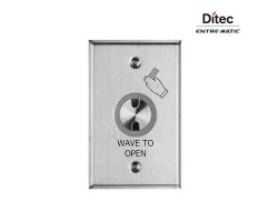 Ditec Touch-Less Wired Wave to Open Door Switch
