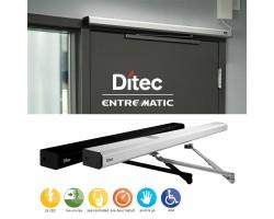Ditec HA7 Slim Low Energy Door Operator for Interior Doors, Bronze Color
