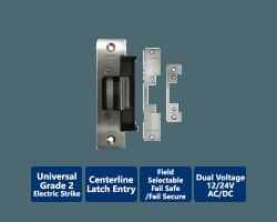 Camden CX-ED2079 'Universal' Low Profile Gr. 2 Electric Strike