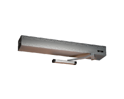 Ditec HA8 Low Profile Low Energy single RH PULL Door Operators,45'', Bronze