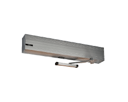 Ditec HA8 Standard Profile Low Energy single RH PULL Door Operators,39'', Bronze