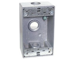 Camden CM-34AL Single Gang Mounting Boxes