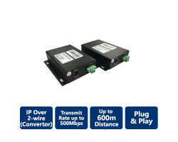 EXT-PLC302 IP over 2-wire Cable Extender