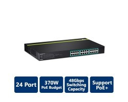 Trendnet 24-Port Gigabit PoE+ Switch