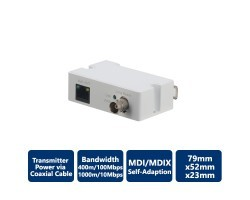 Single-Port Long Reach Ethernet over Coax Extender, Transmitter