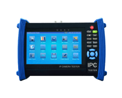 7 inch IP camera tester with AHD, HD-TVI and HD-CVI