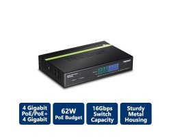 Trendnet 8-Port GREENnet Gigabit PoE+ Switch