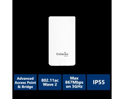 EnGenius Outdoor 5 GHz 11ac Wave 2 PtP Wireless Bridge