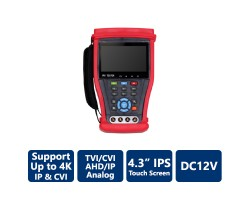 "4.3"" 4K All-In-1 Touch Screen CCTV Tester"