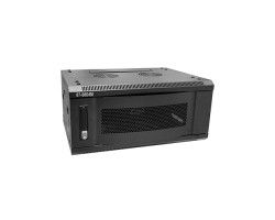 "19"" 4U Wall Mount Network Server Cabinet with Metal Door"