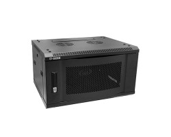 "19"" 6U Wall Mount Network Server Cabinet with Metal Door"