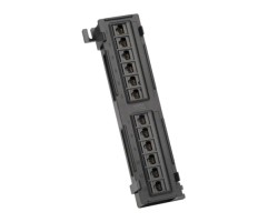 Patch Panel, 12 Port, Cat6, 110 Punchdown