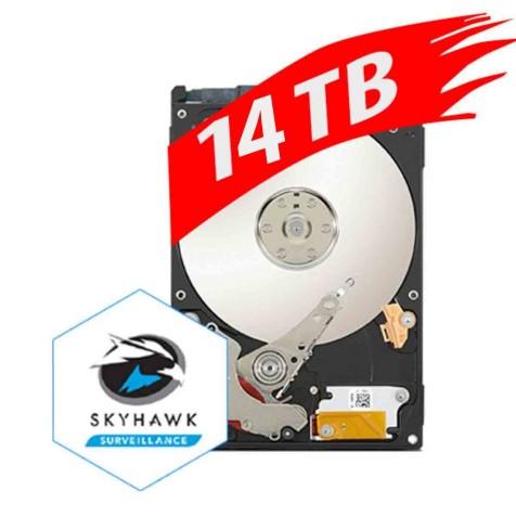SEAGATE : SKYHAWK,3.5inch ,14TB HDD