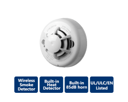 DSC-WS4936 Wireless Photoelectric Smoke Detector