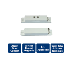 ALARM-BS-2032WH Surface Mount Contact with terminals
