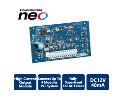 DSC-HSM2204 High Current Output Security Module