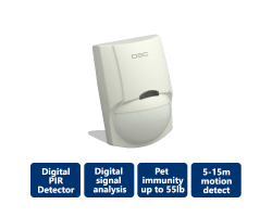 DSC-LC100PI PIR Motion Detector with Pet Immunity