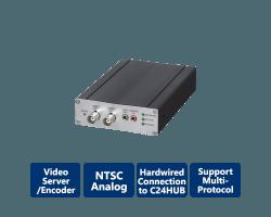 C24-CAMANL Video Server/Encoder