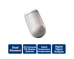 DSC-BV600ULC Bravo 6 Twin, Dual-Element, Pet-Immune PIR Motion Detectors