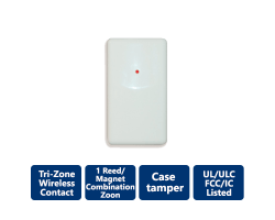 DSC-WS4965 Tri-Zone Wireless Door/Window Contact