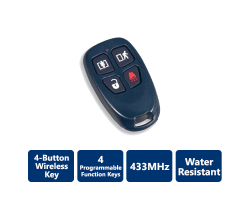 DSC-WS4939 4-Button Wireless Key