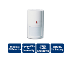 DSC-WS4904P Wireless Passive Infrared Detector