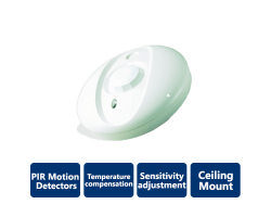 DSC-BV500 Bravo 5 360° Ceiling-Mount PIR Motion Detectors