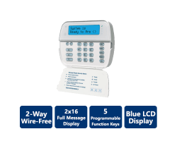 DSC-WT5500 2-Way Wireless Wire-Free Keypad