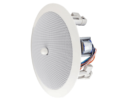 "Speco Technologies SPG86TC 8"" Ceiling Speaker with 25V/70V Transformer and Volume Control"