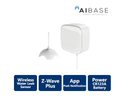 AiBase Smart Home Water Leak Sensor