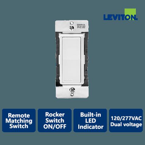 Leviton Decora Smart Dual Voltage Remote Matching Switch