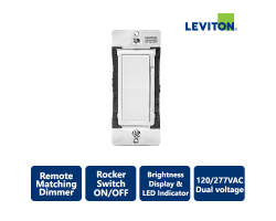 Leviton Decora Smart Dual Voltage Remote Matching Dimmer