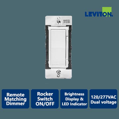 Leviton Decora Smart Dual Voltage Remote Matching Dimmer