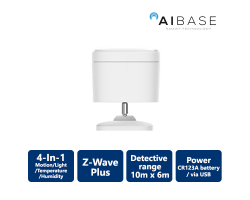 AiBase Smart Home 4-In-1 Motion Sensor
