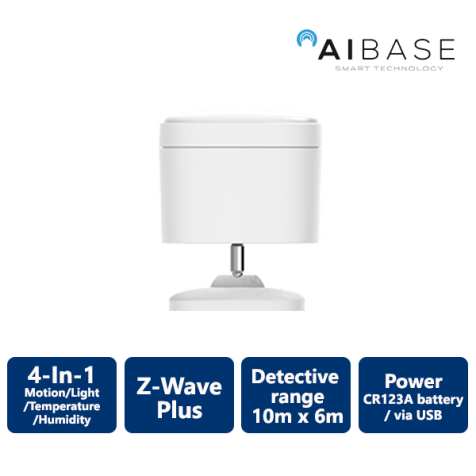 AiBase Smart Home 4-In-1 Motion Sensor