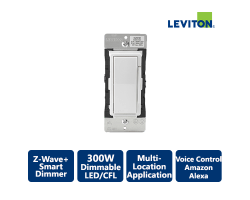 Leviton Decora 600W Z-Wave+ Smart Dimmer