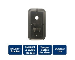 Bracket for VDP-DH-9211 door station, Black