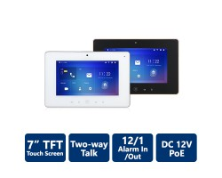 "7"" TFT Touch Screen SIP2.0 Wi-Fi Indoor Monitor"