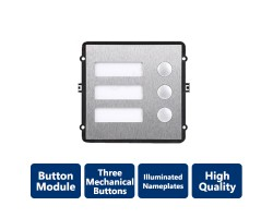 Additional Module 3 Mechanical Buttons for Modular Outdoor Station