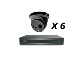 8 Channel 5MP 4-In-1 HD Analog Kit, Black
