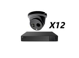 16 Channel 5MP 4-In-1 HD Analog Kit, Black