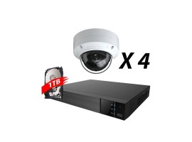 4 Channel 5MP IP Fixed Kit
