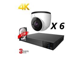 EyeOnet 8 Channel 4K IP Fixed Kit