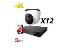 EyeOnet 16 Channel 4K IP Fixed Kit