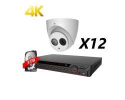 16 Channels 4MP Real Time IP Kit