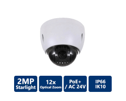 2MP 12x Starlight PTZ Network Camera
