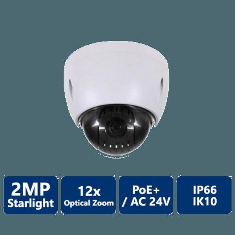 2MP 12x Starlight PTZ Network Camera