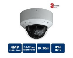 EYEONET CAM-IP6394W-Z 4MP Network IR Water-proof Dome Camera