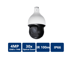 4MP 30x IR PTZ Network Camera