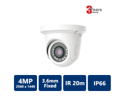 EYEONET 5MP Real Time True WDR IP Eyeball, 3.6mm Fixed